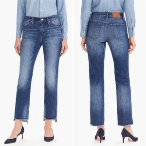 J.Crew Slim Broken-In Boyfriend Jean Step Hem 27P